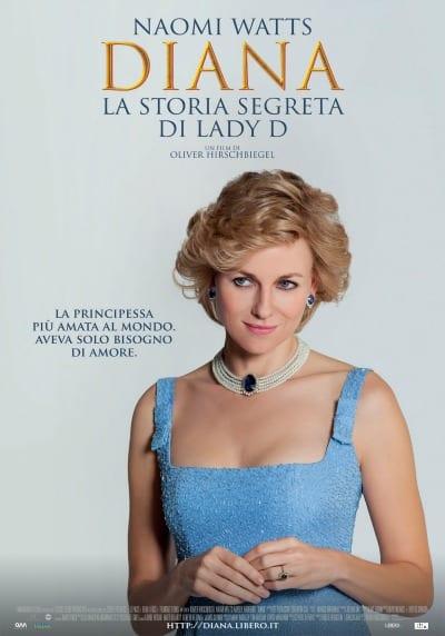 DIANA – La storia segreta di Lady D - La locandina