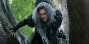 """Meryl Streep in azione sul set di """"Into the Woods"""""""