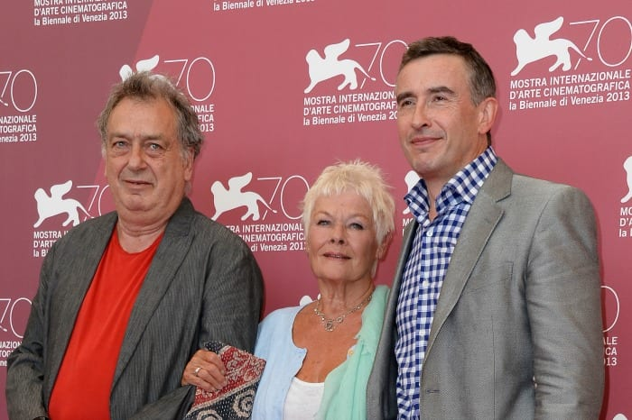 Stephen Frears, Judi Dench e Steve Coogan   © Pascal Le Segretain / Getty Images