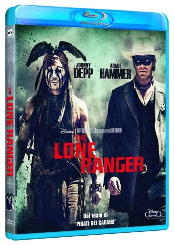 The Lone Ranger in Blu-Ray