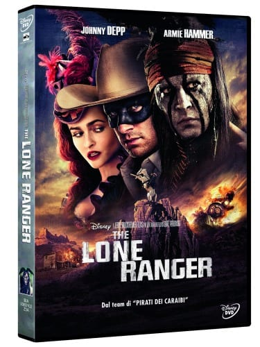 The Lone Ranger in DVD