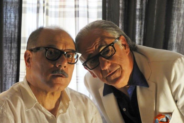 Carlo Verdone e Toni Servillo ne La grande bellezza