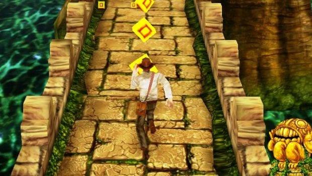 Una scena dal gioco Temple Run