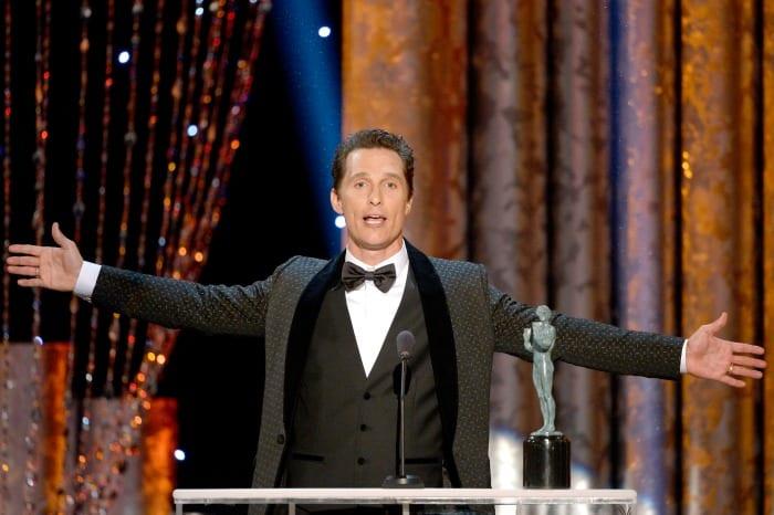 Matthew McConaughey ai SAG Awards | © Kevork Djansezian / Getty Images