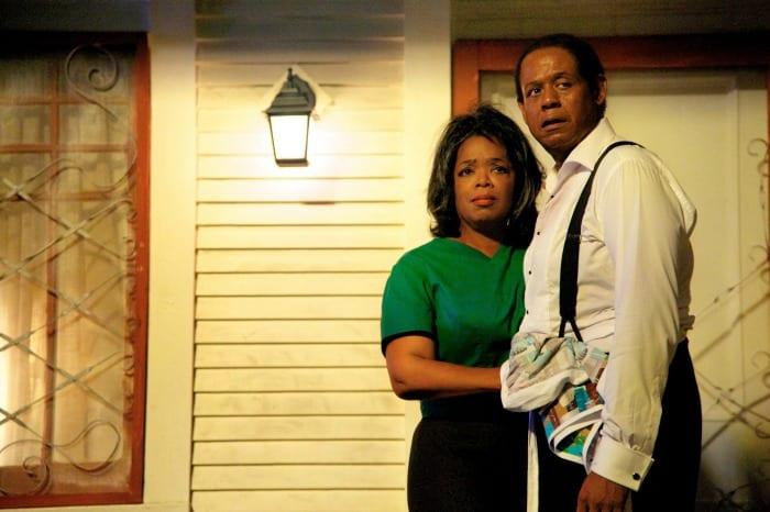 Oprah Winfrey e Forest Whitaker