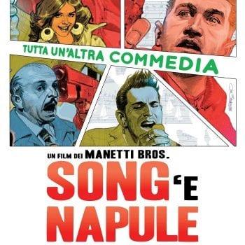 Locandina Songe Napule 35x50 Bassa