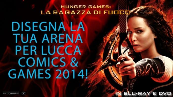 Hunger Games - Disegna la tua arena
