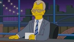 David Letterman Simpson