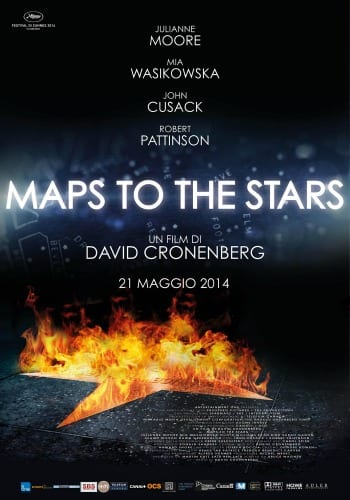 Maps to the stars - La locandina
