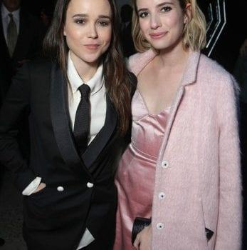 Ellen Page e Emma Roberts