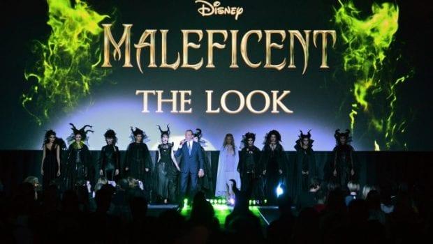 Maleficent black carpet