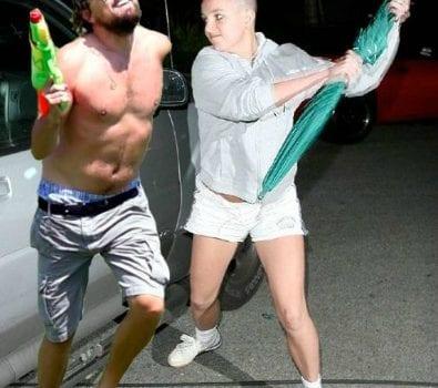 Leonardo DiCaprio e Britney Spears