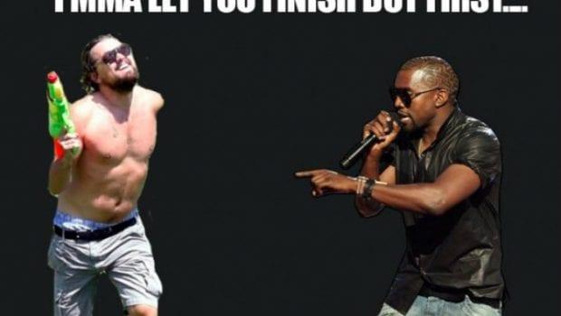 Leonardo DiCaprio e Kanye West