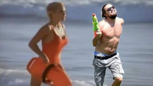 Leonardo DiCaprio e Pamela Anderson