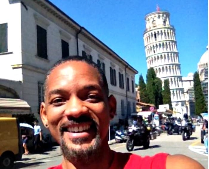 Will Smith a Pisa