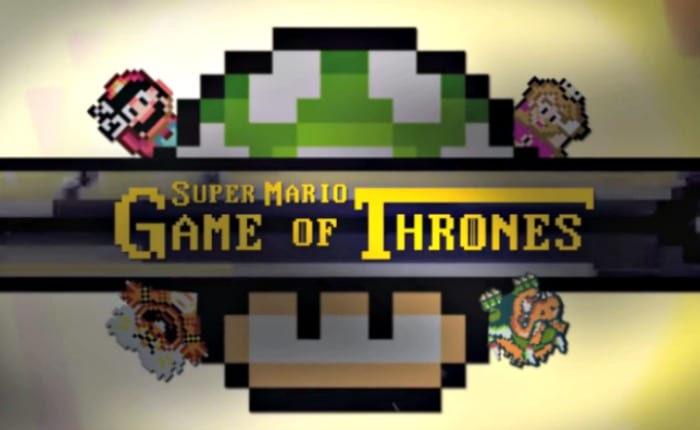 Super Mario Game Of Thrones