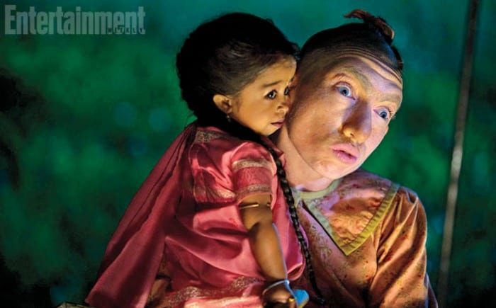 "Pepper in ""American Horror Story: Freak Show""   © Entertainment Weekly"