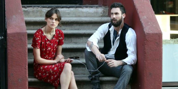 Keira Knightley e Adam Levine