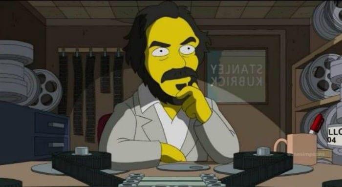 Stanley Kubrick versione I Simpson