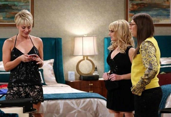 Penny, Bernadette e Amy