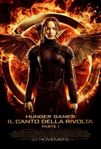 Hunger Games: il canto della rivolta parte I - La locandina