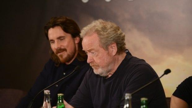 Ridley Scott e Christian Bale a Parigi