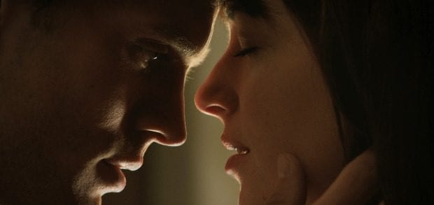 Christian Grey e Anastasia