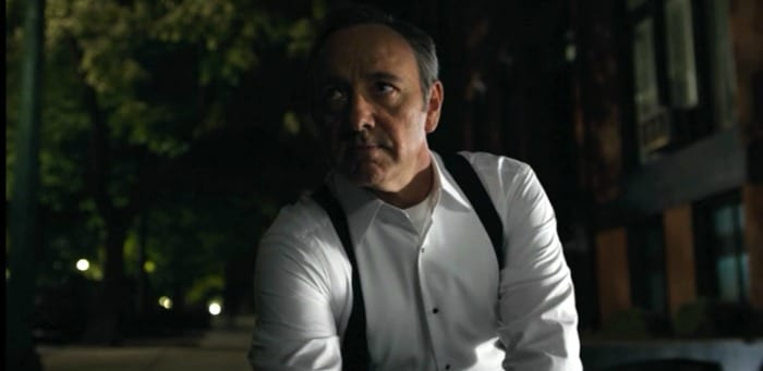 Prima scena House of Cards