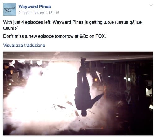 Wayward Pines Facebook