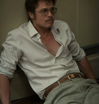 Brad Pitt sul set di By the sea