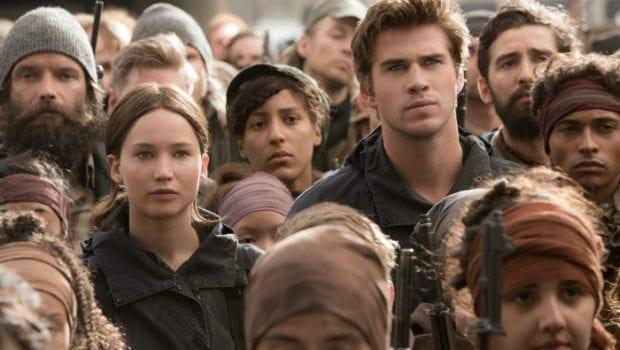 Hunger Games Il canto della rivolta parte II Scene dal film