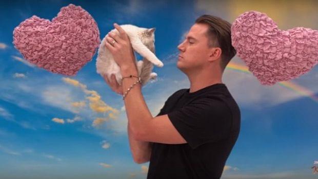 Channing Tatum e il gattino