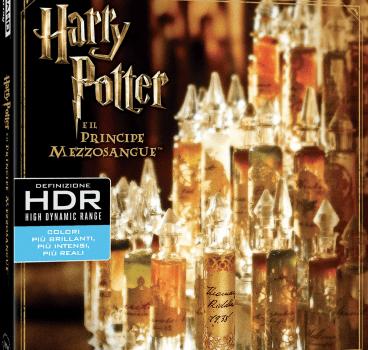 Harry Potter 6 Principe Mezzosangue BD4K