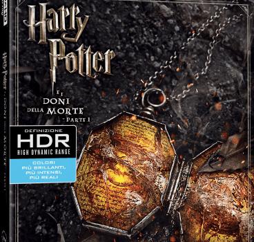 Harry Potter 7.1 Doni della morte BD4K