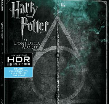 Harry Potter 7.2 Doni della morte BD4K
