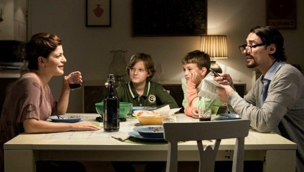 La mia famiglia a soqquadro cena