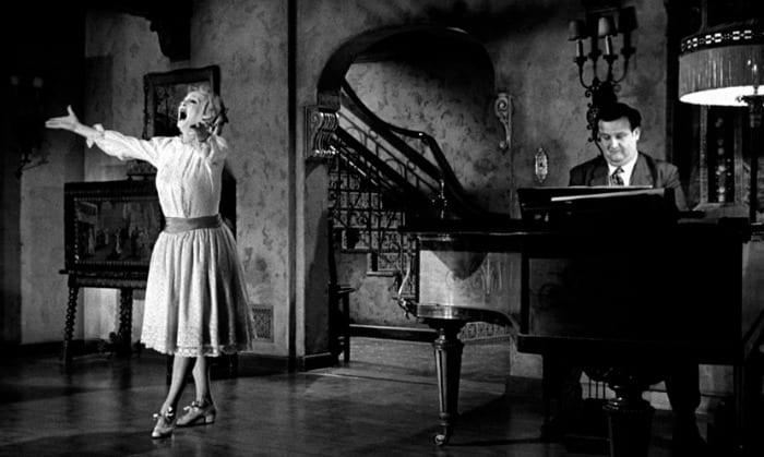 Bette Davis e Victor Buono