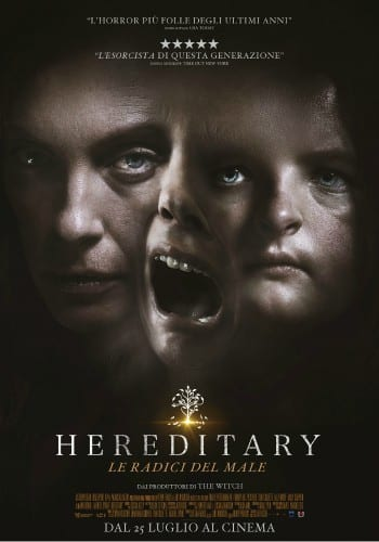 HEREDITARY Poster 3 Volti
