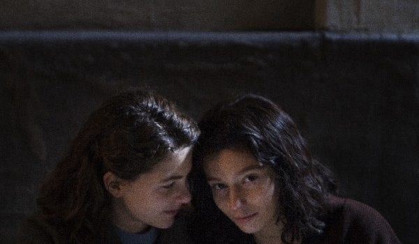 MBF from left Margherita Mazzucco teenage Elena Gaia Girace teenage Lila photo by Eduardo Castaldo