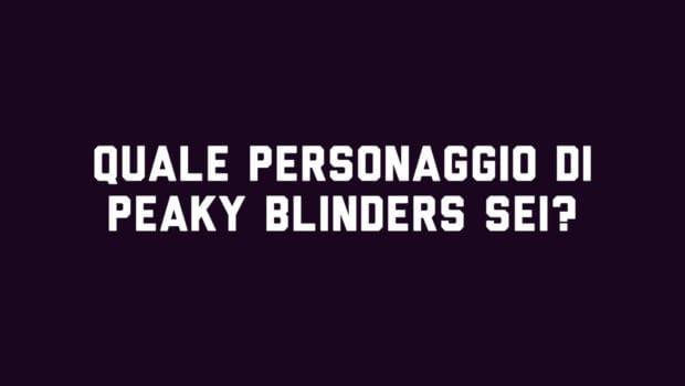 Quiz Peaky Blinders