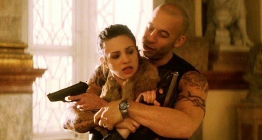 Asia Argento e Vin Diesel