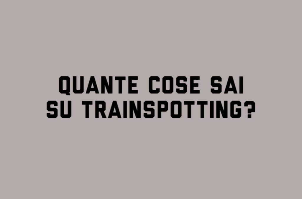 Trainspotting COV 1