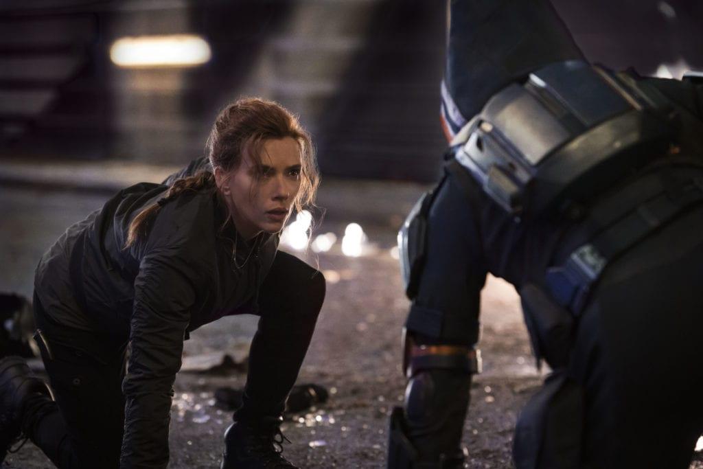 Scarlett Johansson e Black Widow