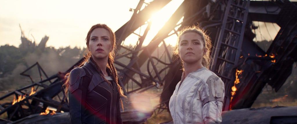 Scarlett Johansson e Florence Pugh Black Widow