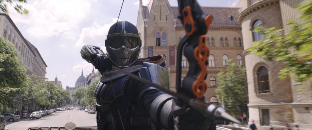 Una scena dal film Black Widow