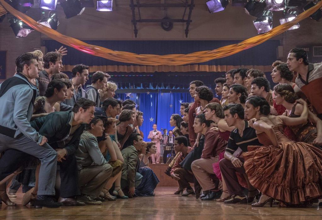 West Side Story una scena dal film