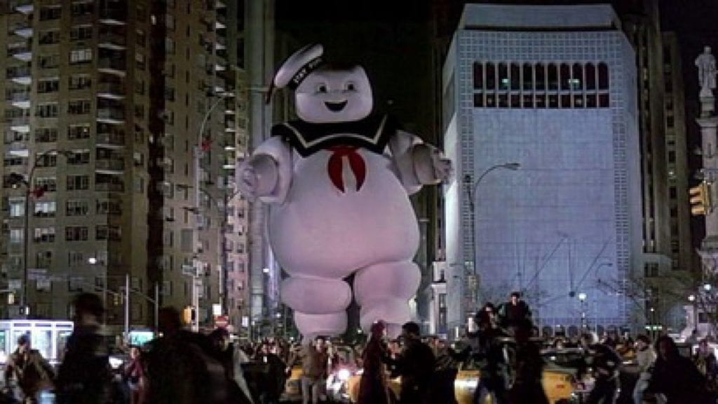 Ghosbusters marshmallow