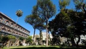 Giardini Romantici di Palazzo Reale a Napoli